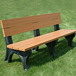 Plastic Benches / Recycled