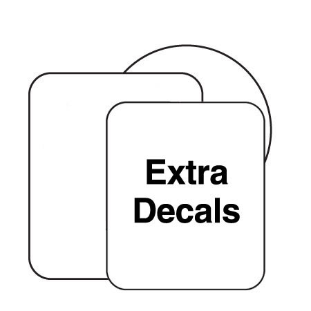 Extra Decal for Dimple, Wedge or Pyramid Markers