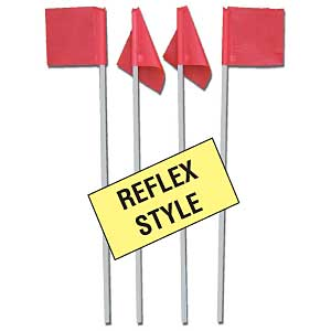 Reflex Soccer Corner Flags (This item ships free)