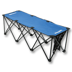 Insta Bench 3 Or 6 Seat Folding Portable Soccer Benches