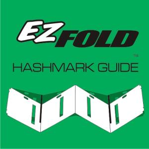 EZ Fold Hashmark Stencil (This Item Ships Free)
