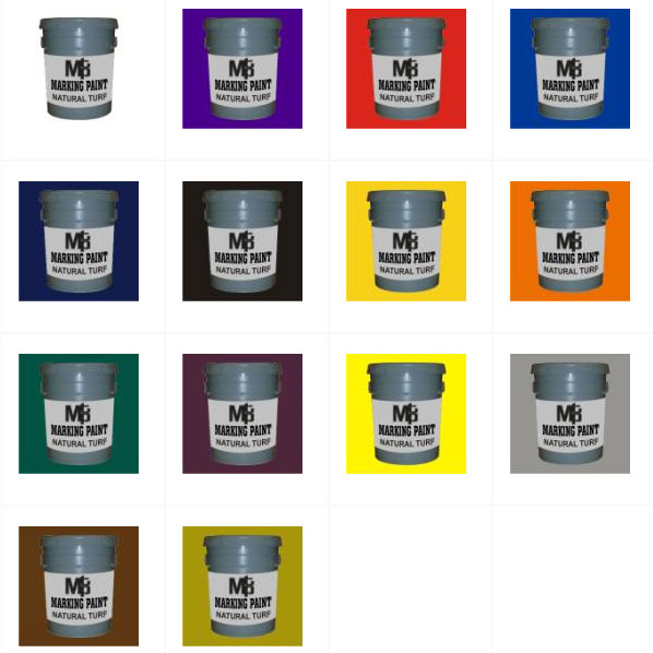 Natural Grass Paint 5 Gallon (15 colors) (This Item Ships Free)