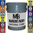 GRASSPAINT -   Natural Grass Paint 5 Gallon (15 colors) (This Item Ships Free)