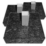 "1.75"" Base Anchor (Pre-Assembled) set of 3 (This item ships free)"