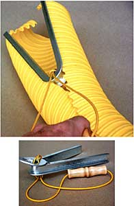 Zipper Poly-Cap Installation Tool