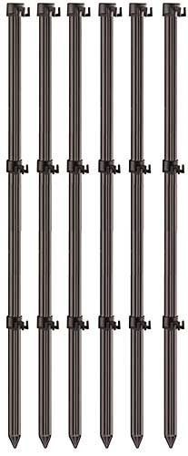 Hook N Hang 6 Pk of Fence Poles