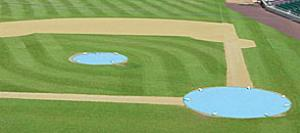 Complete Infield Kit with Round Base Covers