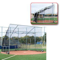 Portable Baseball Batting Cage/Complete