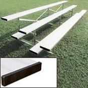 3 Row 15' Standard Bleacher (seats 30) (This Item Ships Free)