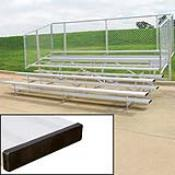 5 Row 15' Standard Bleacher (seats 50) (This Item Ships Free)