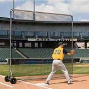 Pro Base/Fungo Screen 8' x 8' (This Item Ships Free)