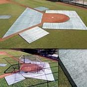Baseball Infield Protector Complete Set