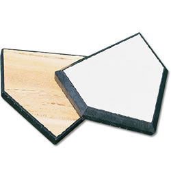 Wood-Filled Home Plate