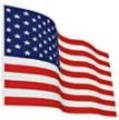 NF - Nylon US Flag , Various sizes (This item ships Free)
