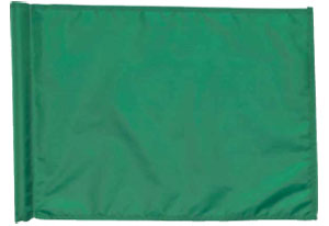 "14"" x 20"" Solid Color Golf Flag (This Item Ships Free)"