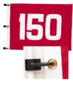 Set of 5 Numbered Range Flags