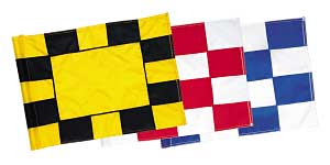 Checkered Flags, Nylon- 200 Denier