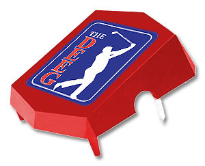 Wedge Tee Marker (personalized)