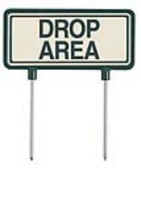 Aluminum Fairway Signs