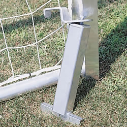 AlumaGoal In-Ground Permanent Anchors-Singles